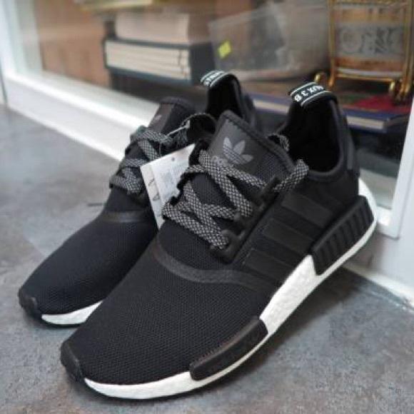 c2b075be9 adidas Shoes - Adidas NMD R1 Reflectives Black White